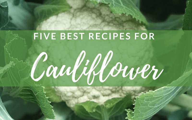 5 Best Recipes for Cauliflower