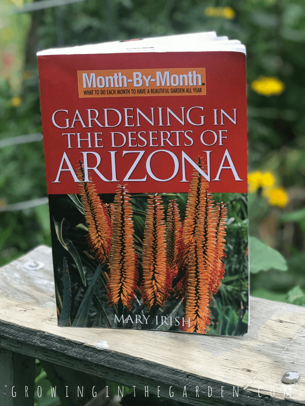 Month-by-Month Gardening in the Deserts of Arizona, by Mary Irish5 Best Gardening Books #gardening #books #gardenbooks