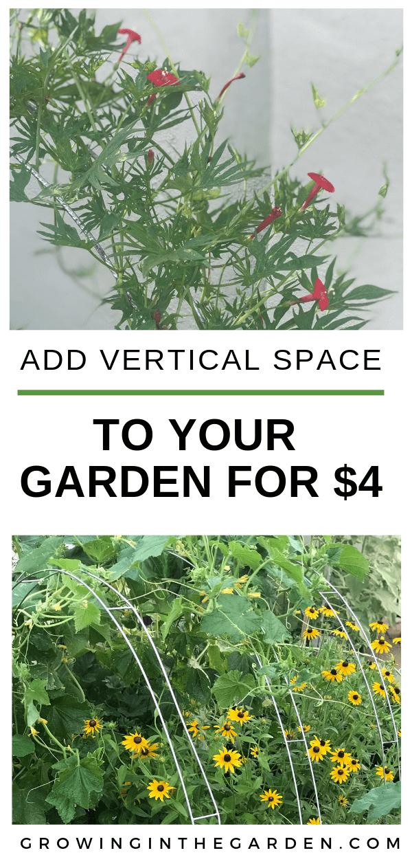 Vertical gardening #gardenhacks #verticalgardening #gardening #arizonagardening