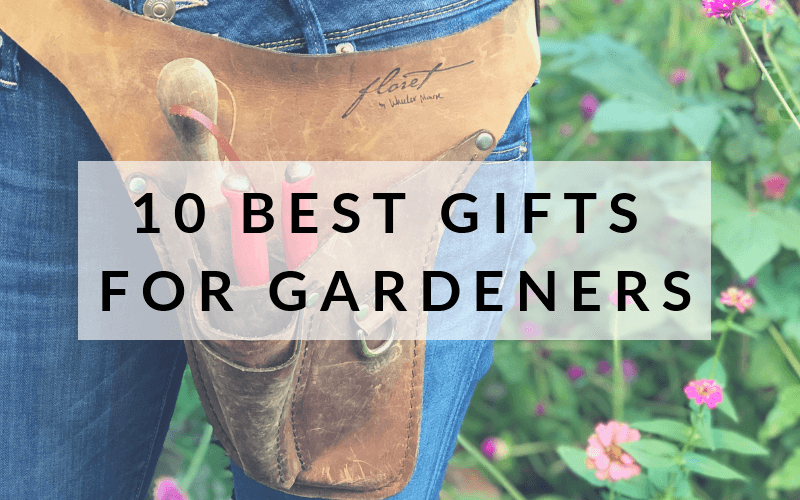 Gardening Gift Ideas - Gifts for Gardeners #gardening #gardenergift #holidaygiftguide #giftforgardeners