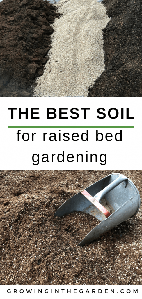 best soil for raised bed vegetable gardening