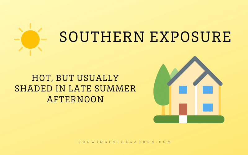 Southern Exposure Shade Definition and Diagram