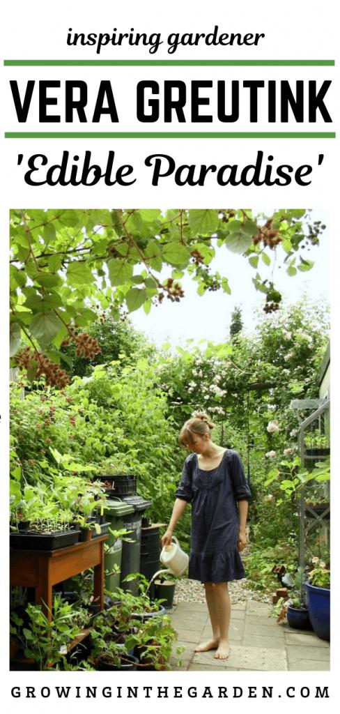 Inspiring gardener Vera Greutink