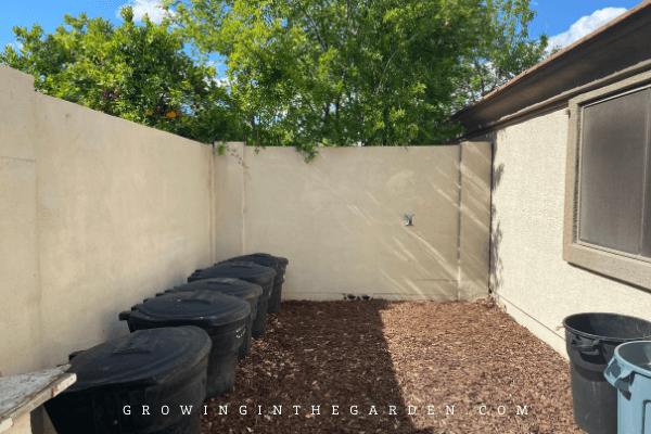 Maximize space in the garden